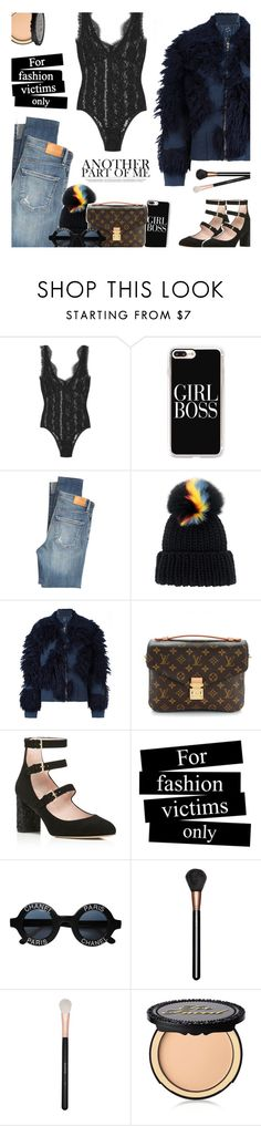 """""""Untitled #448"""" by ino-6283 ❤ liked on Polyvore featuring By Malene Birger, Casetify, Citizens of Humanity, Eugenia Kim, 3.1 Phillip Lim, Louis Vuitton, Kate Spade, Chanel, MAC Cosmetics and Morphe"""