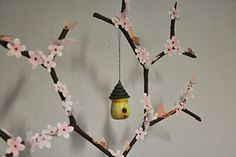 DIY Cherry Blossom Tree for Chinese New Year 2013