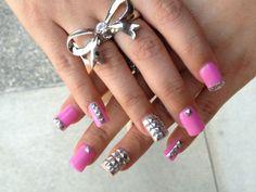 Pink Nail Art Designs