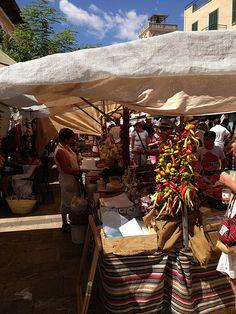 Market Day Santanyi Mallorca