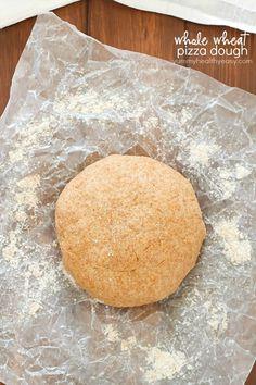 Easy Whole Wheat Pizza Dough – Yummy Healthy Easy
