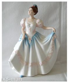 The last two digits in our item title are simply a personal inventory number. Any new item will be unused. Porcelain Ceramics, China Porcelain, Painted Porcelain, China Painting, Royal Doulton, Ball Jointed Dolls, Our Lady, Pretty Little, Sculptures