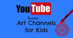 Great list of YouTube art tutorials for kids. Paint, sculpt, draw, and doodle plus art history lessons, too. All free!