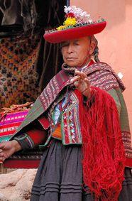 Weavers at Chinchero