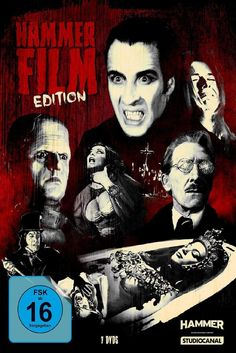 Dracula, Horror, Hammer Films, Vampire, Halloween, Movie Posters, Fictional Characters, Monsters, Germany
