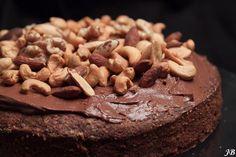 Carolines blog: Chocolade-hazelnoottaart (glutenvrij)
