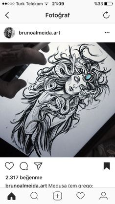 19 Ideas for tattoo snake leg art Music Tattoos, Leg Tattoos, Body Art Tattoos, Sleeve Tattoos, Skull Tattoos, Tatoos, Medusa Tattoo, Snake Tattoo, Medusa Art