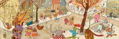 Djeco ~ Puzzle ~ Paris ~ 100pce Kids Room Murals, 100 Piece Puzzles, City Illustration, Whimsical Art, Illustrators, Art Projects, Project Ideas, Art For Kids, Vintage World Maps