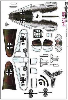 https://flic.kr/p/65HdRi | Meschersmitt Me 109-F