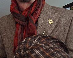 Ralph Lauren jacket, Paul Smith shirt, Aldo scarf, Ben Sherman hat   #menstyle #menswear #menscouture #mensfashion #instafashion #fashion #hautecouture #sartorial #sprezzatura #style #dapper #dapperstyle #pocketsquare