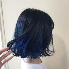 naya katsuragawa ❤︎나야(@n_a_y_a):「 HAIRblue . こだわりカラーのオーダーありがとっ 」
