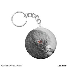 Pigeon's Eyes Keychain Pigeon Eyes, Custom Buttons, Diy Face Mask, Dog Design, Funny Cute, Dog Cat, Cool Designs, Art Pieces, Kids Shop