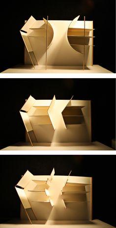 Estudio de luces || Maqueta Conceptual