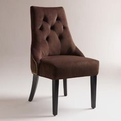 One of my favorite discoveries at WorldMarket.com: Chocolate Lydia Dining Chairs, Set of 2
