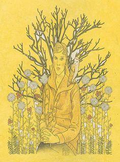 'autumn pastoral' by david hile David, Autumn, Fine Art, Fictional Characters, Fall Season, Fall, Fantasy Characters, Visual Arts