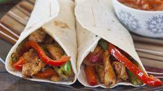 Easy Chicken Fajitas that you can put together in about 30 minutes!