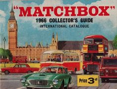 "the-toy-exchange - A crisp clean vintage 1966 Lesney ""MATCHBOX"" TOYS shop product catalogue. Retro Toys, Vintage Toys, Hot Wheels, Routemaster, Catalog Cover, Corgi Toys, Mattel, Matchbox Cars, Childhood Toys"