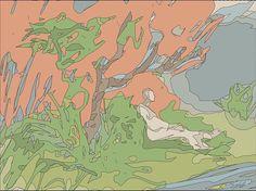 """SylokAir Art — """"Sur L'Herbe"""" - 3, by Sylok."""