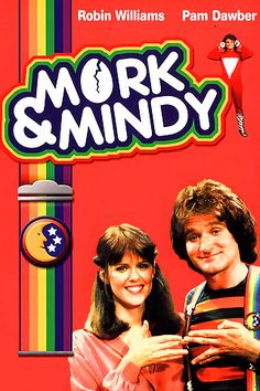 Mork and Mindy Robin Williams 80 Tv Shows, Old Shows, Best Tv Shows, Favorite Tv Shows, 80s Kids Shows, 1970s Tv Shows, Favorite Things, Robin Williams, Mork & Mindy
