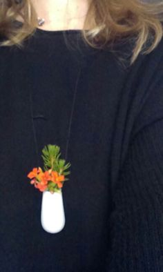 Plant necklace