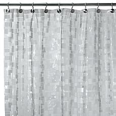 image of Ice Cubes Vinyl 70-Inch W x 72-Inch L Shower Curtain