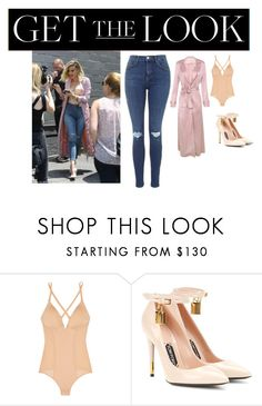 """Topshop jeans"" by mckenziejenner ❤ liked on Polyvore featuring Cosabella, Tom Ford and Topshop"