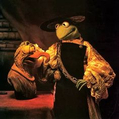 Rembrandt van Rijn - Muppet Wiki. Kermit and Gonzo. Aristotle with a Bust of Homer painting.