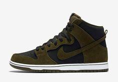 Nike SB Dunk High Olive 854851-330 | SneakerNews.com