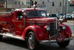 Antique Fire Engine by scattered1