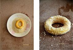 Doughnut, Peach, Candy, Cookies, Desserts, Food, Crack Crackers, Tailgate Desserts, Deserts