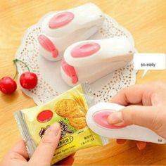 Vova | Mini portátil de calor sellado de la máquina sellador sello Impulse Embalaje bolsa de plástico