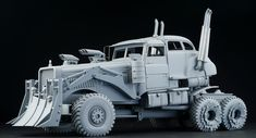 1/24 full scratchbuilt madmax fury road armoured vehicle WAR RIG > GALLERY | DIVE NINE