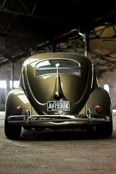 Oval Window VW Beetle