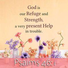 Psalms 46:1 http://www.mwordsandthechristianwoman.com/