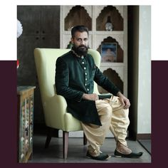 #groominspiration We are in love with this simple yet classy green #sherwani Are you too?? Tag your #groomtobe friends and help them go light on their pockets.  Visit www.rentanattire.com or download the App.  For more information, contact us at 7722036477.  P.S: Use code RAAHOLI15 & Get Flat 15% off on orders above Rs.3999. Offer valid till 11th March.  #raa #rentanattire #fashiononrent #fashionrental #designerwearonrent #groomtobe #groomsofindia #groomsofinstagram #groomoutfit #sherwani