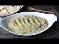 ▶ Baba Ghanoush - How to Make Roasted Eggplant Dip & Spread - YouTube