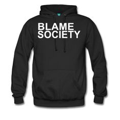 BLAME SOCIETY. DIRECT TO GARMENT PRINT.
