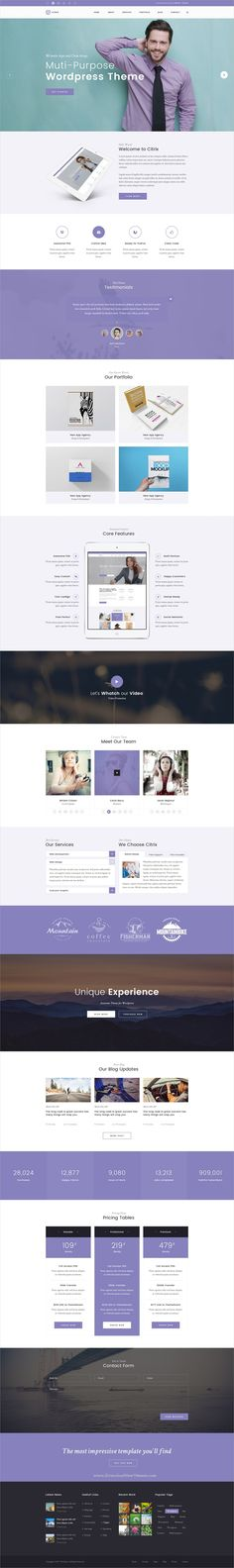 Citrix is clean and modern design multipurpose #PSD template for #corporate, photographs, personal, portfolio, Blog and services website with 12 layered PSD files download now➩ https://themeforest.net/item/citrix-multipurpose-website-psd-template/19766051?ref=Datasata