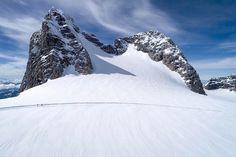 #glacier views. : @djiglobal #phantom4pro #dachstein #skiingislife