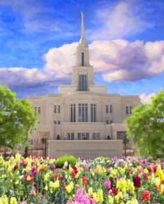 Payson Utah Temple - Have your Photos Painted by Pros