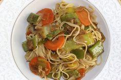 Vegan Chinese Noodles