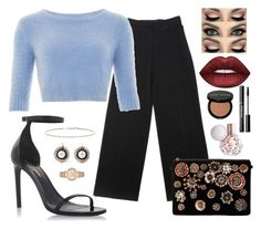 """Time for work"" by gretabenel on Polyvore featuring Yves Saint Laurent, Collectif, Steve Madden, Lime Crime, Bobbi Brown Cosmetics, EF Collection and Michael Kors"