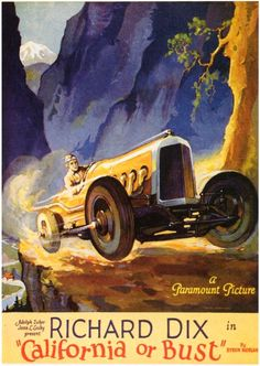 California or Bust - movie poster - 1927