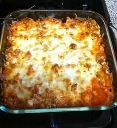 Chicken Parmesan Casserole HOLY CRAP! – Tomato Hero