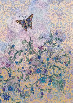 BugArt Decoratives ~ Italian Butterfly. DECORATIVES Designed by Jane Crowther.
