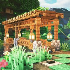 Minecraft Roof, Minecraft Building Designs, Minecraft Building Blueprints, Minecraft House Plans, Minecraft Cottage, Minecraft House Tutorials, Cute Minecraft Houses, Minecraft Construction, Amazing Minecraft
