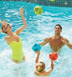 With an innovative design that won't get water-logged, our high-flying Galaxy Balls inspire hours of pool fun.