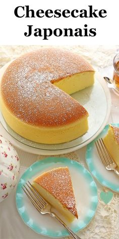 dessert for two cheesecake ~ dessert for two Japanese Cheesecake Recipes, Cheesecake Desserts, Japanese Cheescake, Mango Cheesecake, Nutella Cheesecake, Baking Recipes, Snack Recipes, Dessert Recipes, Snacks