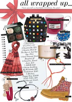 SARAH-HAYLEY | FASHION | BEAUTY | LIFESTYLE: All Wrapped Up - Have yourself a charitable Christmas this year!