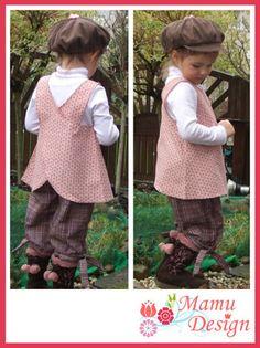 Variante 1 vom Hängerchen für Mädchen und junge Mamas